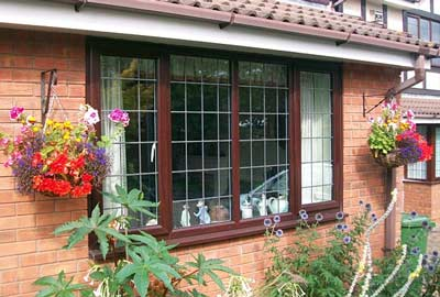 Opt for a wood effect uPVC window