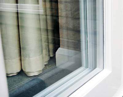 What is fixed secondary glazing?