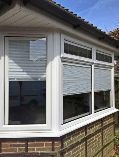 Integral bay window