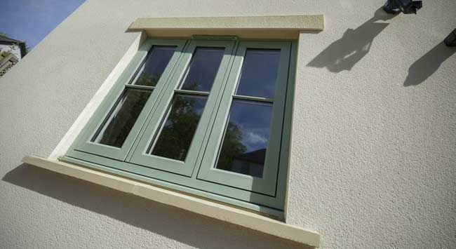 Choose coloured uPVC windows