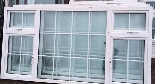 Buying or selling second hand uPVC windows and doors