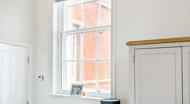 Install secondary glazing in your older home