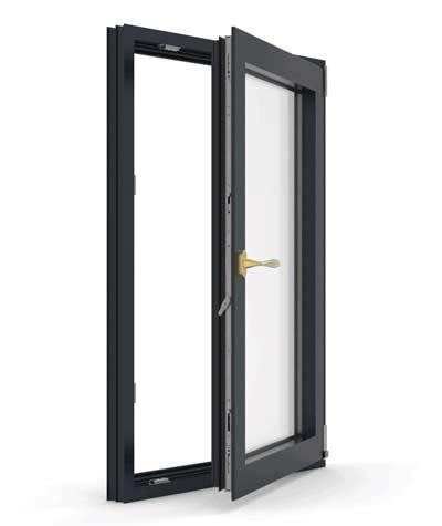 Single frame casement window